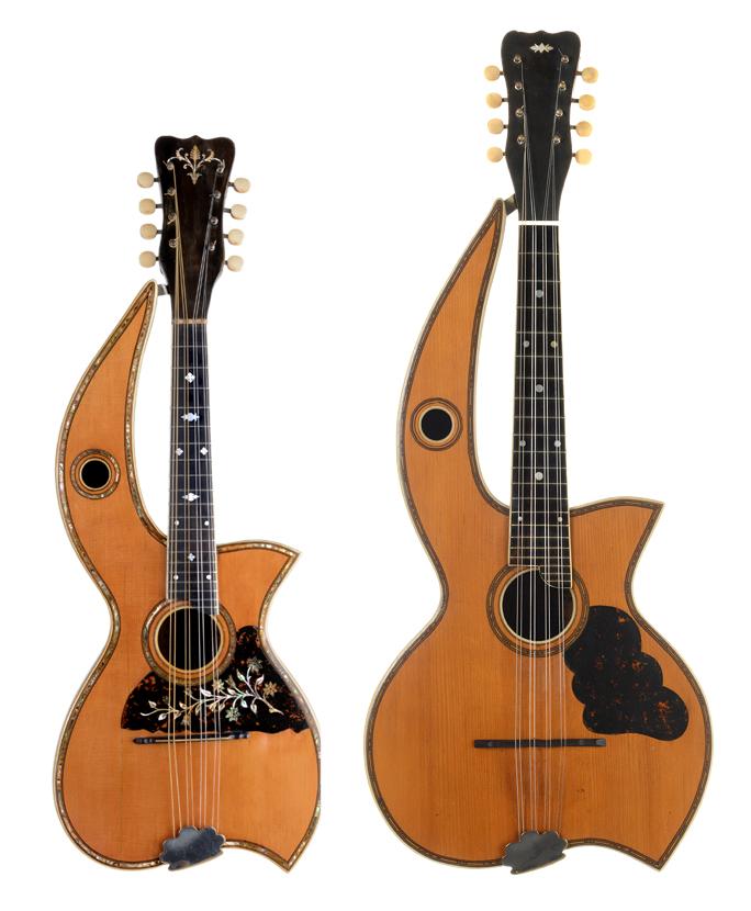 Gregg's Blogg » Blog Archive » Dyer Harp Mandolas: All Present and